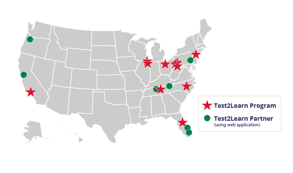 Past Program map